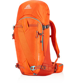 Gregory Targhee 45 Rugzak, sunset orange